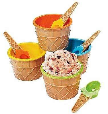 Avon Ice Cream Bowl 8pc Set