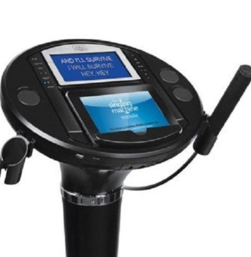Singing Machine iSM1050BT Bluetooth Karaoke Pedestal Speakers // PAL