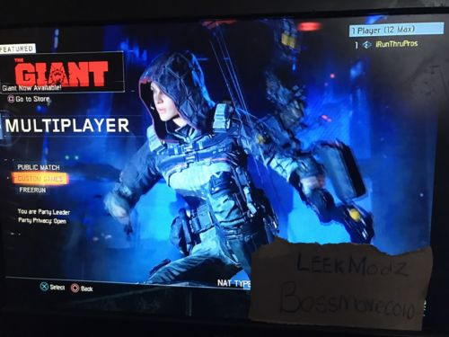 BO3 Modded Accounts FOR PS3 ONLY