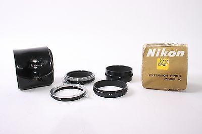 Nikon Original Extension Tube Set K1, K2, K3, K4, K5