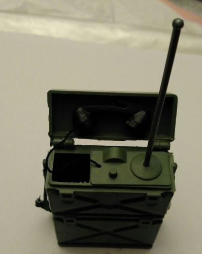 VINTAGE 1964 GI JOE 1st ISSUE COMMAND POST GREEN FIELD RADIO // JAPAN EXCELLENT