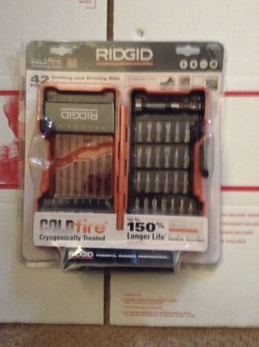 RIDGID 42PC DRILLING and DRIVING BITS