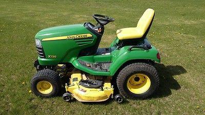 2012 John Deere X720 Garden Tractors