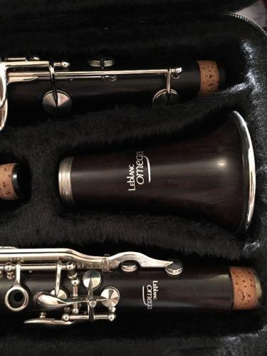 Leblanc Paris France Omega Wooden Clarinet Higher End Unit W Very Little Use