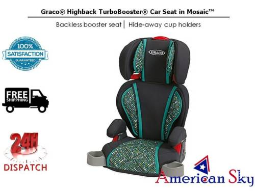 Graco Highback TurboBooster Car Seat in Mosaic™