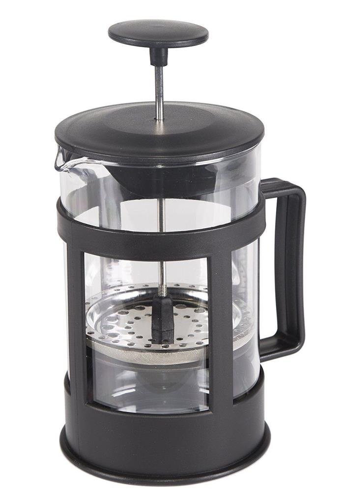 French Press Coffee Tea Maker Practical For Travel Pot Stainless Steel Filter