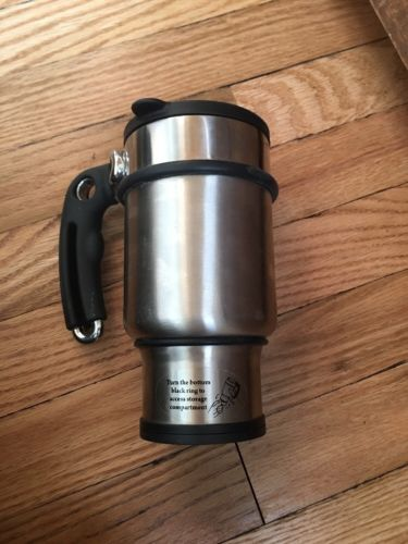 Planetary Design 14 oz Double Shot French Coffee Tea Press Travel Mug