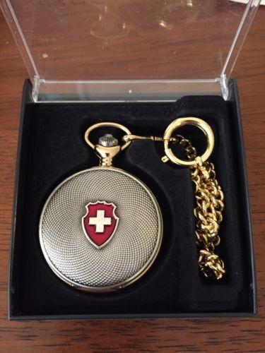Jacques Du Manoir Pocket Watch, Men's Watch, Swiss Made
