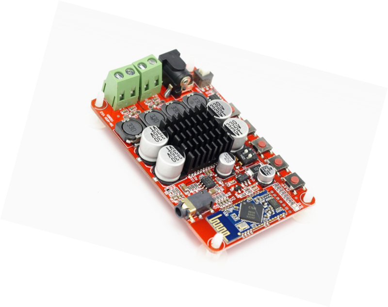 Wireless Digital Bluetooth 4.0 Audio Receiver Amplifier Board TDA7492P 50W+50W