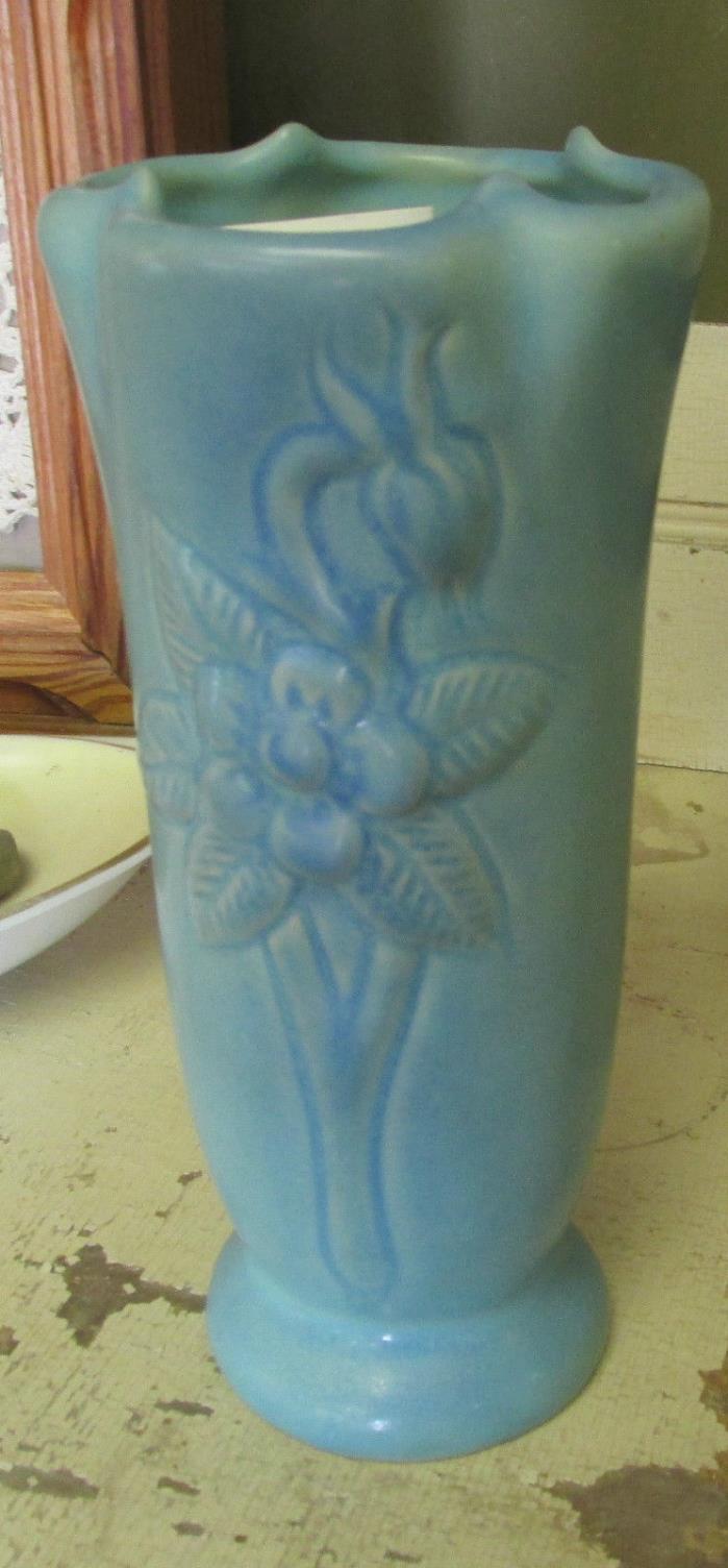 Vintage Van Briggle Blue Vase