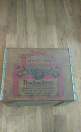 Vintage Anheuser Busch Beer Wood Crate Box St. Louis w/ Lid - The Winning  Team