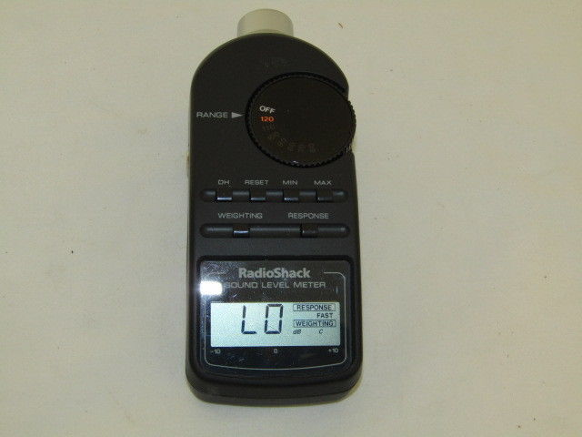 Radio Shack 33-2055 Digital Sound Level Meter
