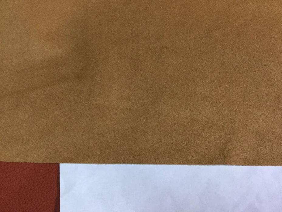 5206 Ginger Toray Ultrasuede Microfiber Upholstery fabric, 4 2/8 yds.