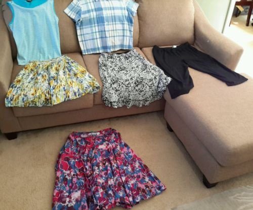 Women's size Petite Large clothes mixed lot of 6 (1121)