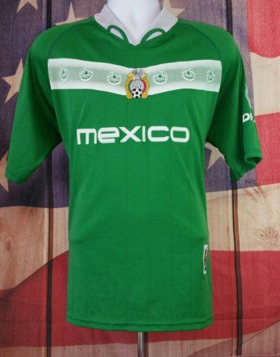 FEDERACION MEXICANA MEXICO SOCCER JERSEY MEDIUM GREEN