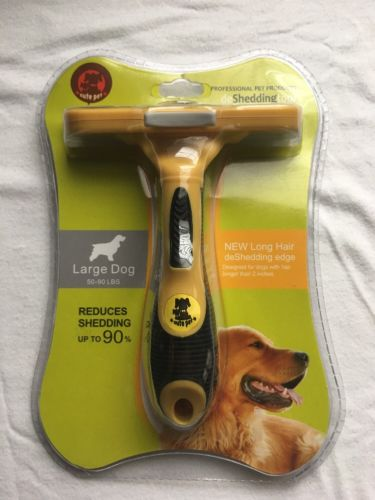 Large Dog Professional Dog De-Shedding Tool Cute Pet