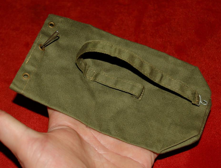 VINTAGE 1964 GI JOE EARLY ACTION SOLDIER MILITARY POLICE TM JAPAN MP DUFFLE BAG