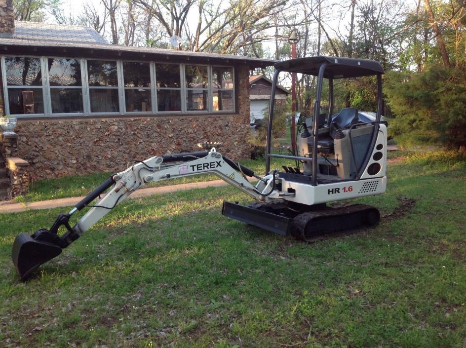 2007 Terex Mini Excavator   HR 1.6