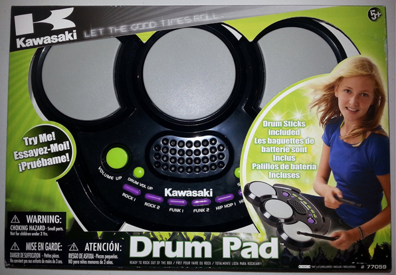 Kawasaki Mini Digital Electronic Drum Set