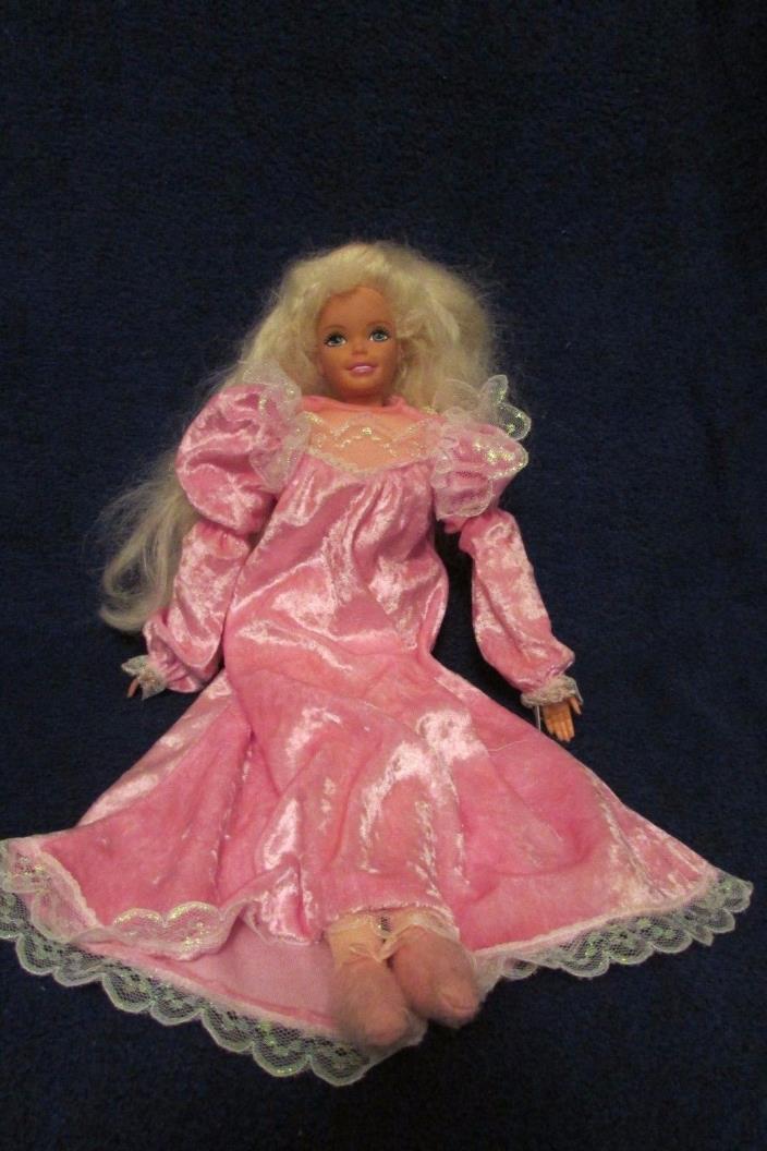 Mattel Pretty Dreams Bedtime Barbie Doll