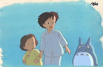 Anime Cel Totoro (Studio Ghibli, Miyazaki) #12