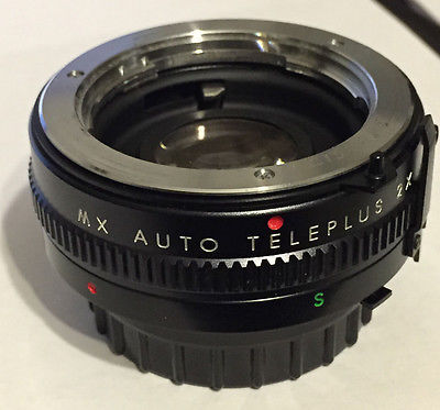 KENKO MX AUTO TELEPLUS 2X LENS WITH CASE/Caps VINTAGE Minolta MT