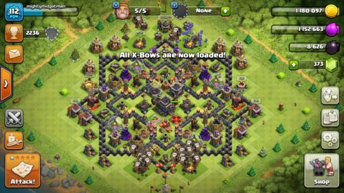 clash of clans th9 max 50$ or best offer