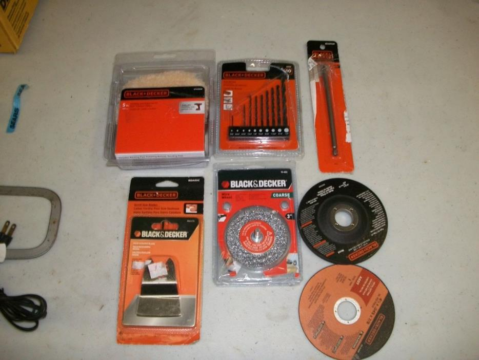 Lot of NEW Black & Decker Tools