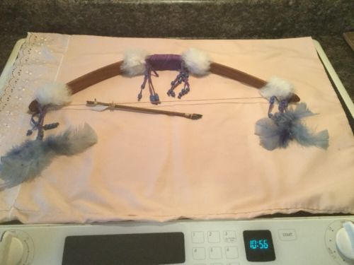 Native American Handmade Decorative Bow & Arrow Replica