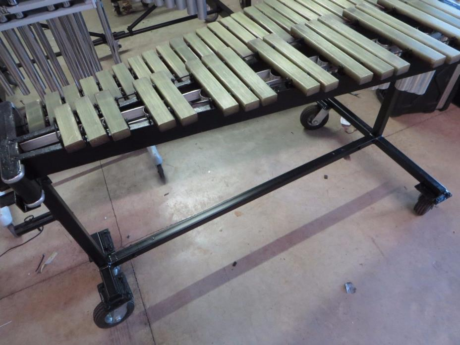 Musser M51 3.5 Octave Xylophone with Field Cart,  Serviced in Good Condition