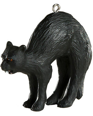 HorrorNaments Black Cat Halloween Christmas Tree Ornament Decoration