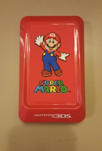 RED NINTENDO 3DS Super Mario Protective Rubberized Case NICE+