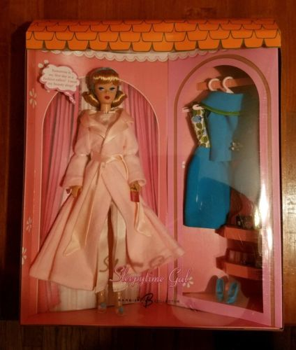 2006 Gold Label Sleepytime Gal Barbie Gift Set Vintage Reproduction