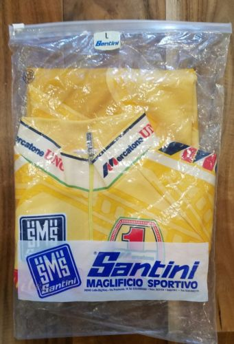 Mercatone Uno Cycling Jersey NEW - Lance Armstrong Cycling Pantani