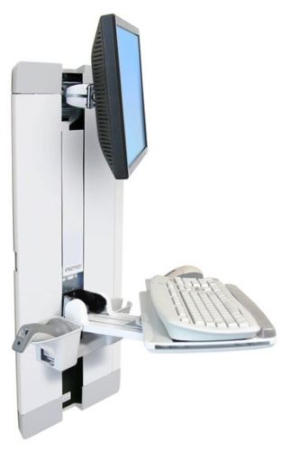 Ergotron 60-609-216 StyleView Vertical Lift, Patient Room