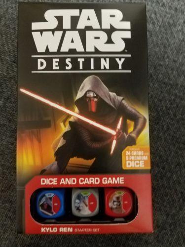 Star Wars Destiny Kylo Ren Starter Deck Set - FFG Games - Board Game New!