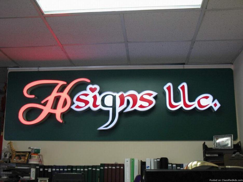 Commercial sign lighted awning for sale classifieds for T shirt printing norcross ga