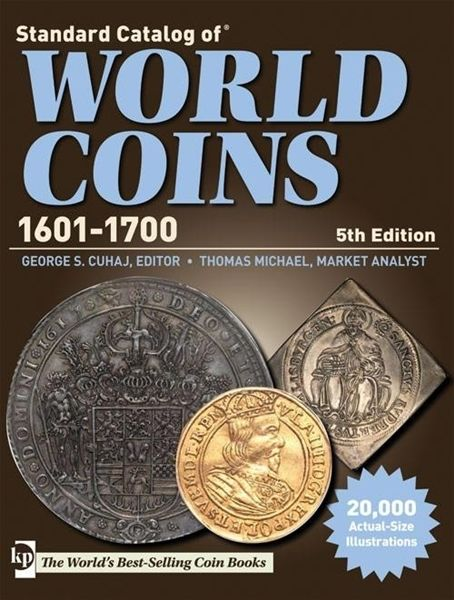 NEW! Standard Catalog of World Coins 1601-1700 [CD] [5th Edition]