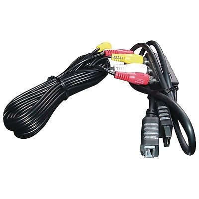 INNOVATION 44555 PlayStation(R)2 A-V Cable 8ft #738012959565 Free Shipped