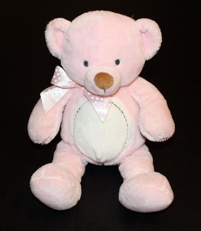 Gund Baby Welcome Little One Honeypot Pink Teddy Bear Plush Stuffed Animal Toy