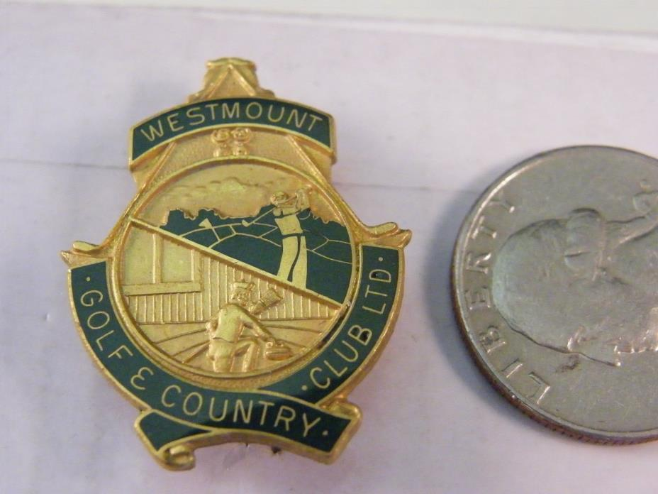 WESTMOUNT GOLF & COUNTRY CLUB LTD. PIN CURLING