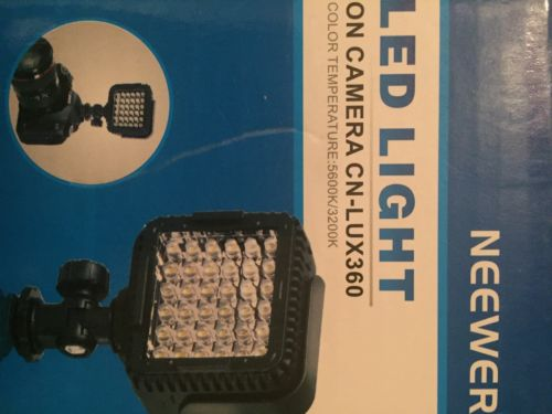 Neewer Led Light On Camera CN-LUX360
