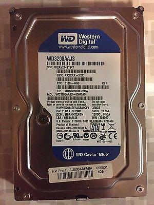 Western Digital Caviar Blue 320GB 8MB 7200RPM 3.5