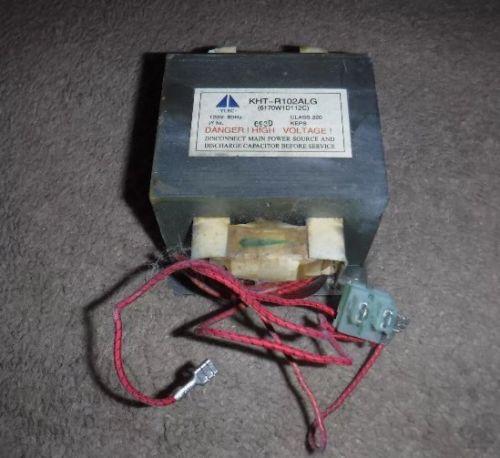KENMORE 6170W1D112C Microwave Oven HV Transformer 6170W1D112 KHT-R102ALG