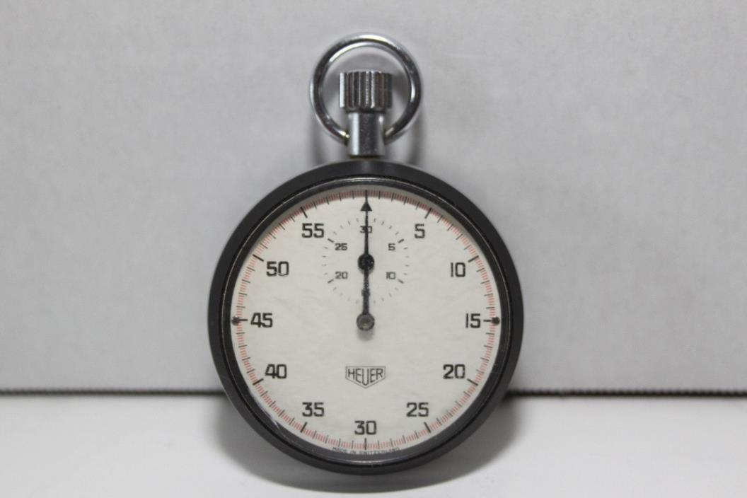 Vintage Heuer stopwatch Made In Switzerland