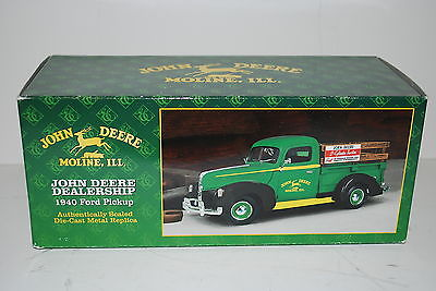 John Deere dealership delivery truck, 1940 Ford Pickup by Ertl