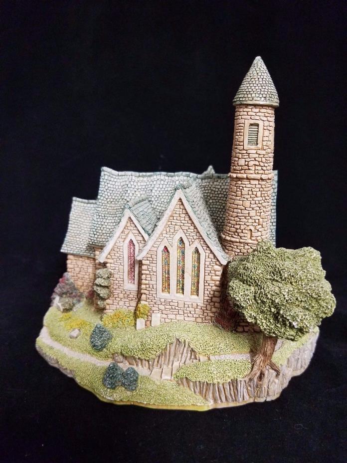 Lilliput Lane Irish Collection St. Patrick's Church 1989 Cottage Bell Tower