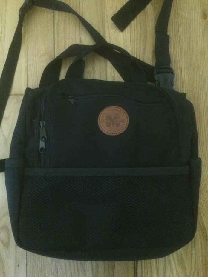 DULUTH TRADING CO MASTER SERIES Born on the Job Site BLACK Lunch Bag