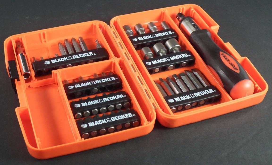 Black & Decker screwdriver  Bit Set 47 Peices