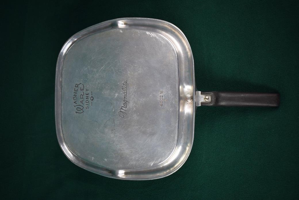 Vintage Aluminum Wagner Ware Sydney -O- Magnalite Broiler Griddle - 4602M - NICE